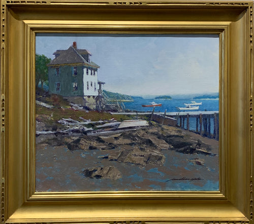 Low Tide Stonington Fine Art  by artist Jonathan Hotz