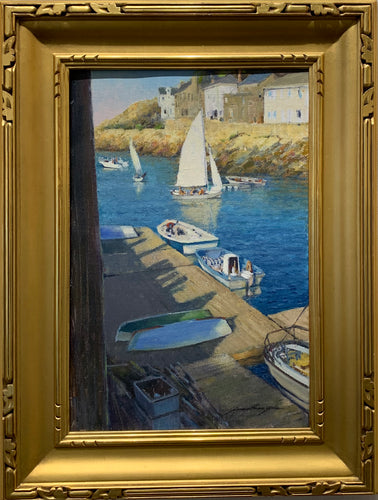 Afternoon Sail Original Painting by Artist Jonathan Hotz