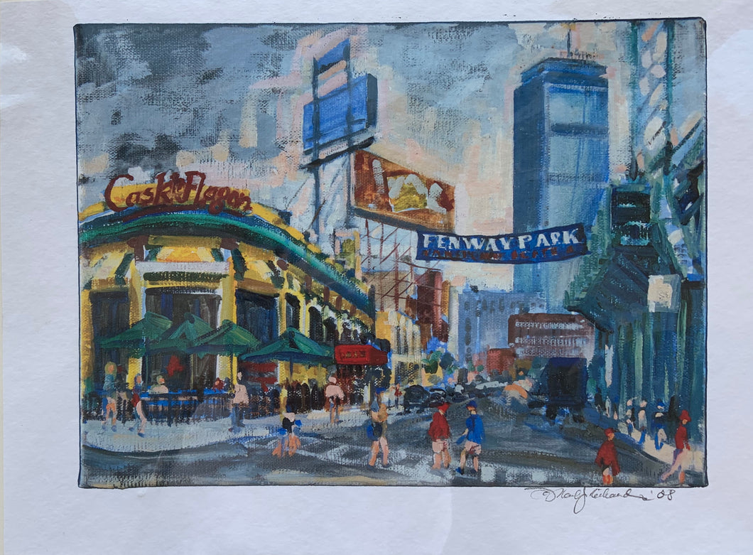 Cask 'N Flagon Limited Edition Print by Mark J Richardson