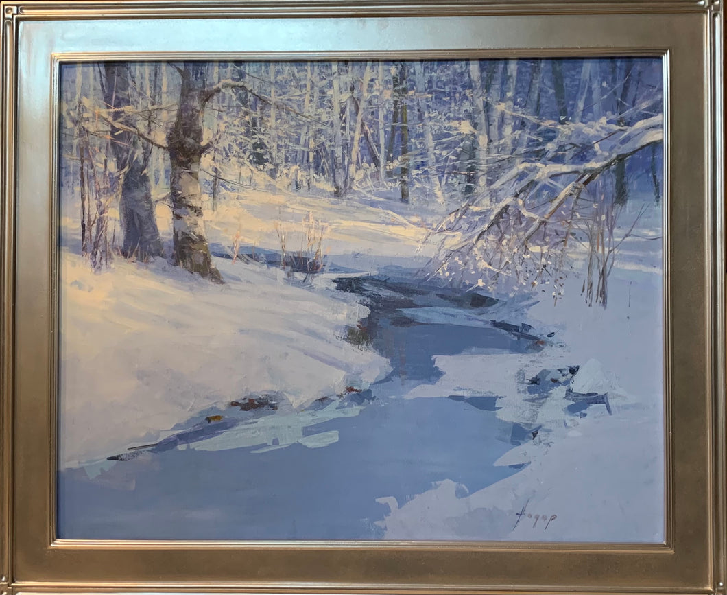 Vermont I  - original oil on canvas by Hagop Kelejian