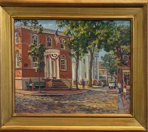 Nantucket Sunshine - Original Oil on canvas by L Mizerek