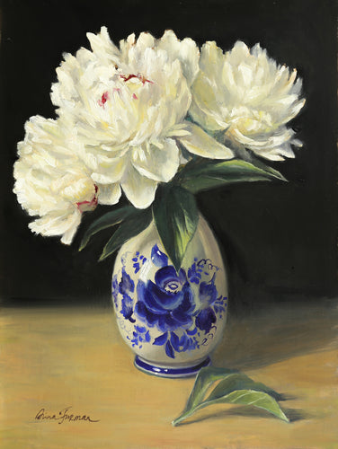 Peonies in a Russian Vase2 - Irina Furman