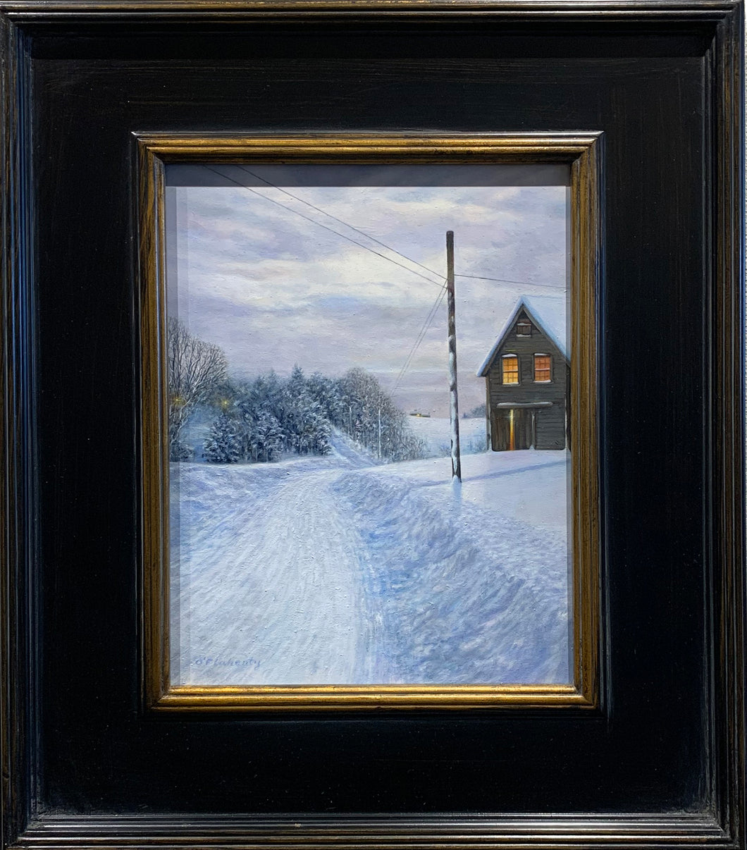Winter Morning by artist Roderick O'Flaherty