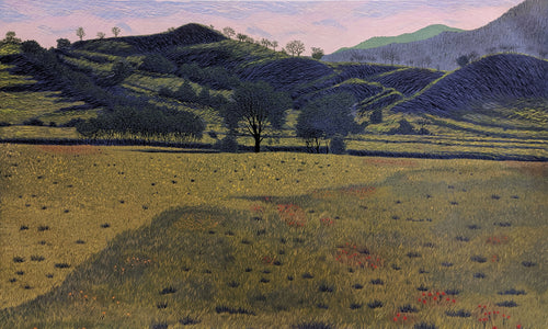 High Meadows - Limited Woodcut Print by Gordon Mortensen