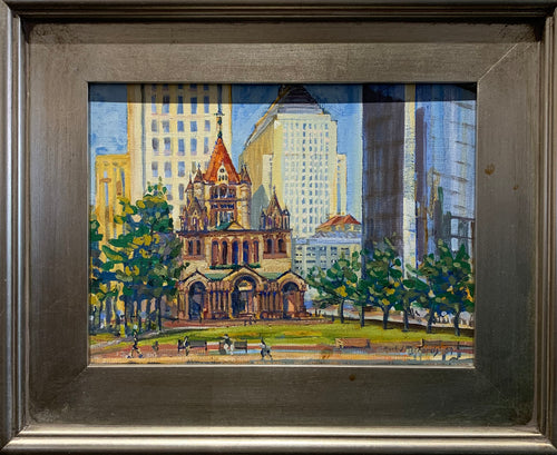 Copley Original Painting by artist Mark J Richards