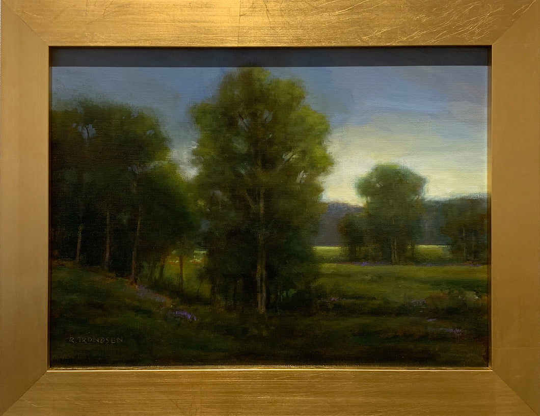 TWILIGHT II By Robert Trondsen - Hudson Valley Tonalist Landscape Painting