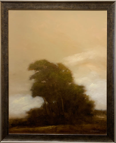 BACK LIGHT By Robert Trondsen - Hudson Valley Tonalist Landscape Painting