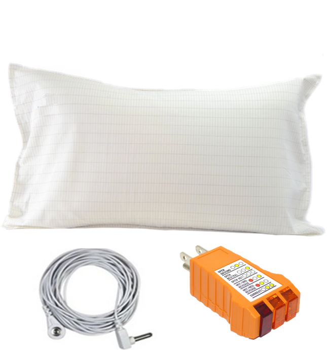 Earthing Conductive Pillow Case - Ground Smart