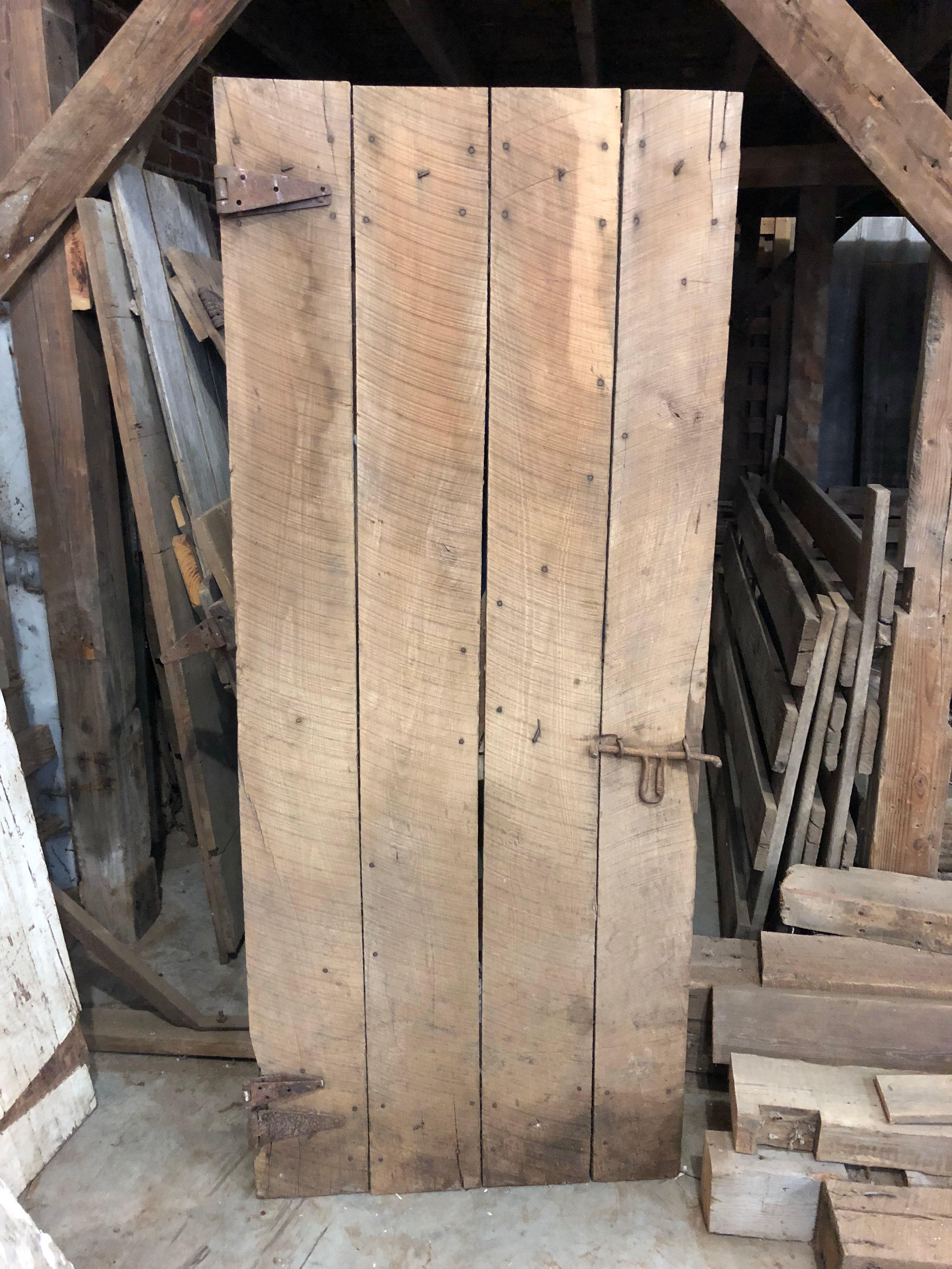 Black Walnut Barn Door