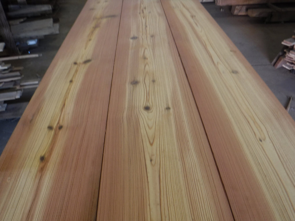 Custom milled wide plank flooring or wall accents now available!