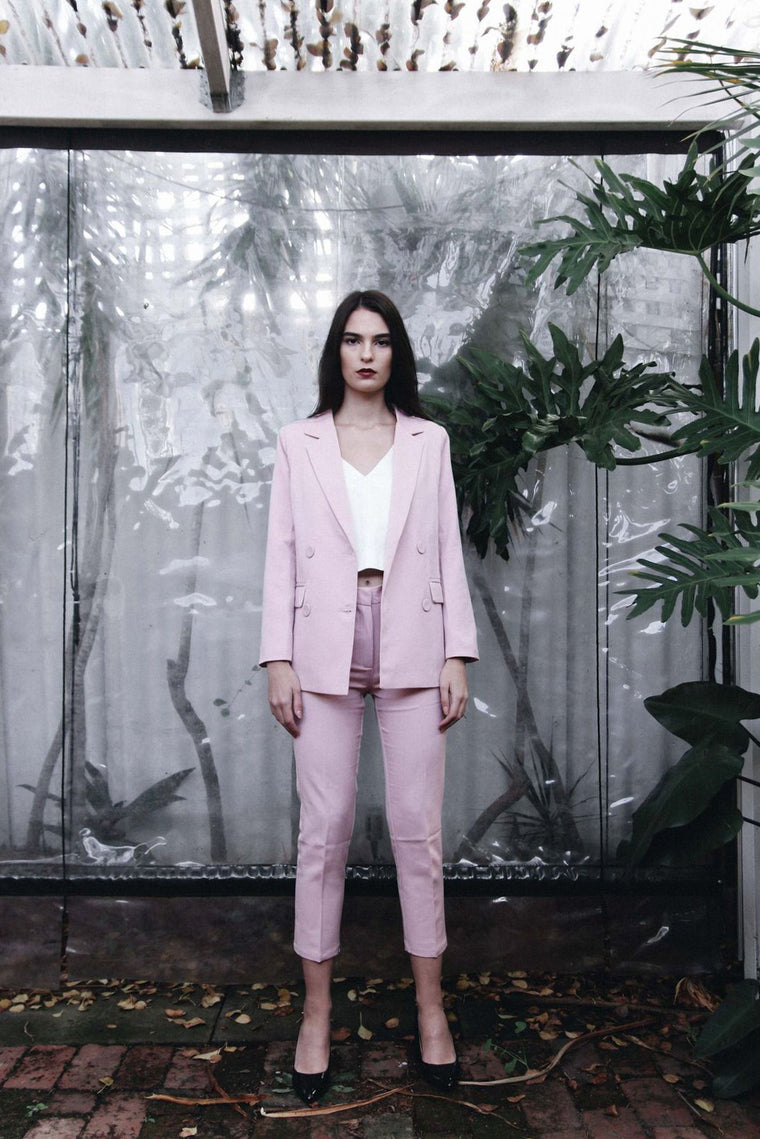 Maia Pink Suit Set