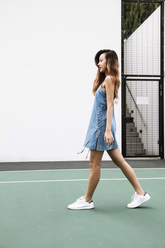 VIVIAN Denim Dress