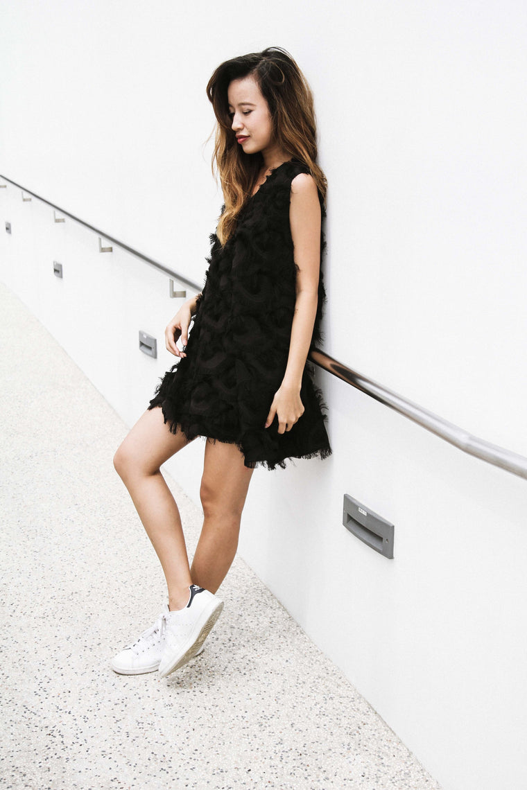 KAT Feathered Dress