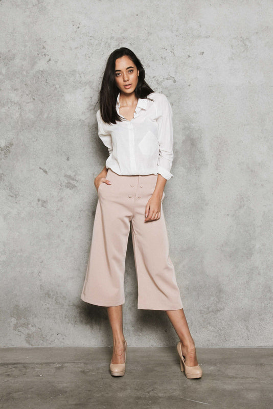 GRACE Wide-Leg Pants