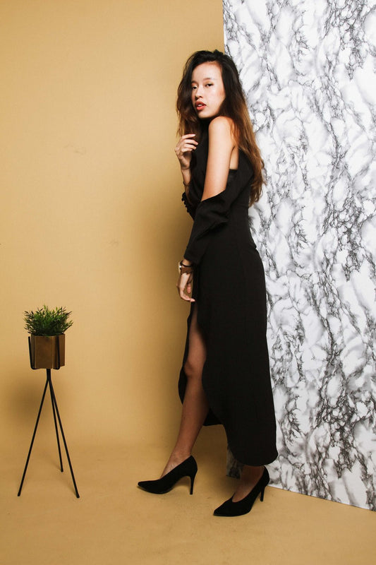 SHELIA Black Dress