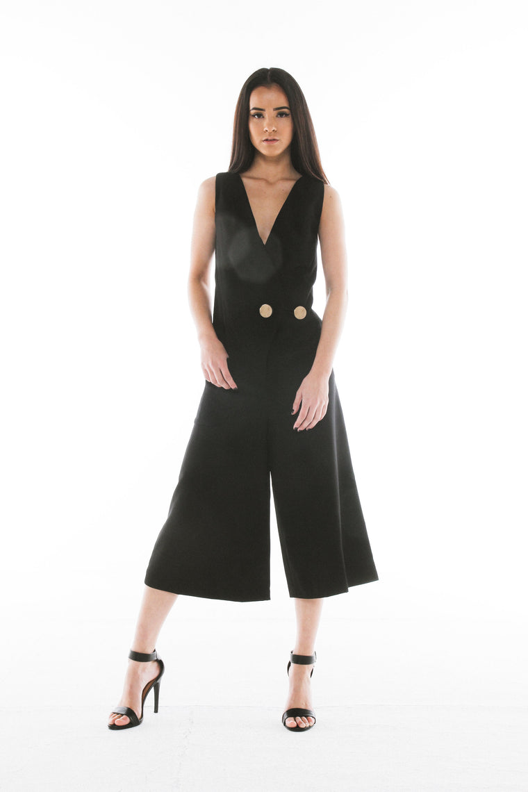 LEIA Black Jumpsuit