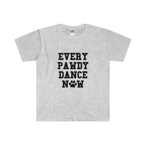Unisex Everypawdy Dance Now T-Shirt