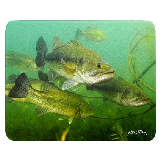 Large Mouth Bass Cutting Board