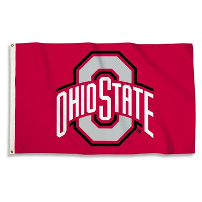 Ohio State 3' x 5' Logo Flag