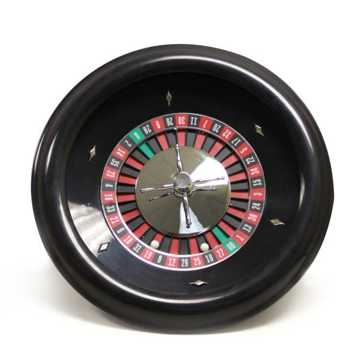 Roulette Wheel with 2 Roulette Balls