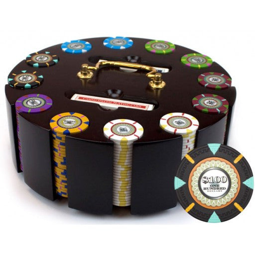 300 Count Claysmith Poker Chip Carousel