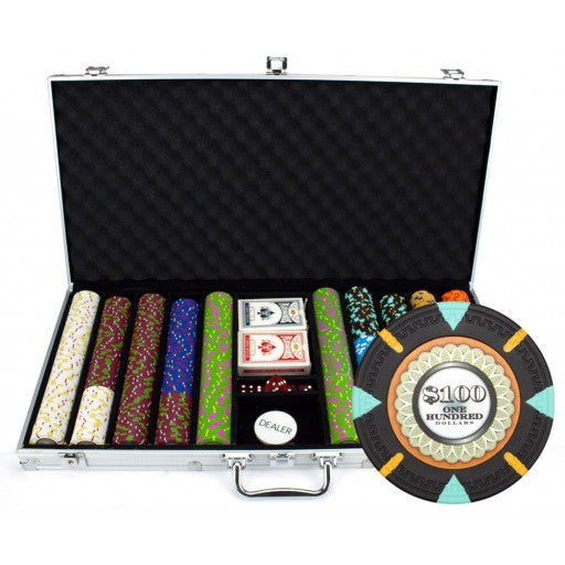 750 Piece 'The Mint' Chip Set in Aluminum Case
