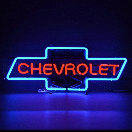 GM Chevrolet Bowtie Neon Sign
