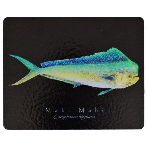Mahi-mahi Black Cutting Board