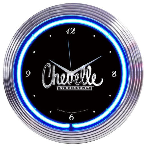 GM Chevelle Neon Clock