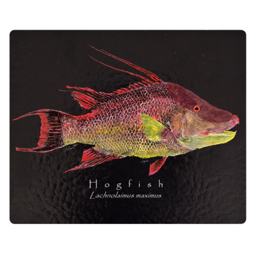 Hogfish Black Cutting Board