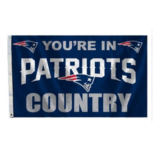 New England Patriots Country 3 x 5 Flag