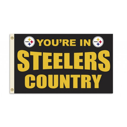 Pittsburgh Steelers Country Flag