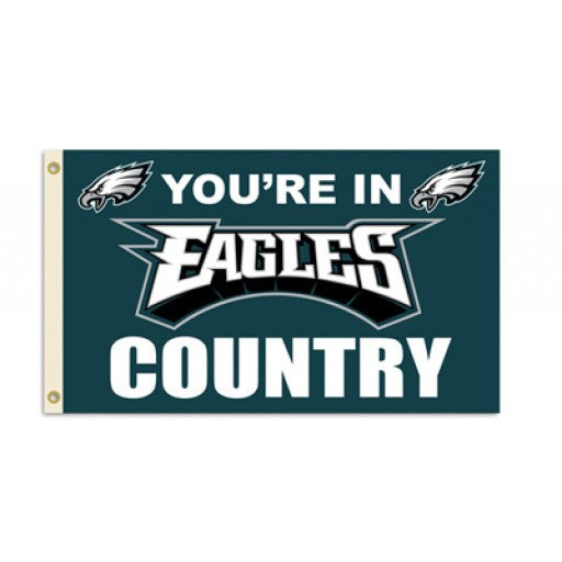 Philadelphia Eagles Country 3 x 5 Flag