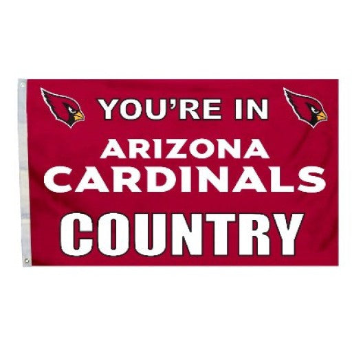 Arizona Cardinals Country 3 x 5 Flag