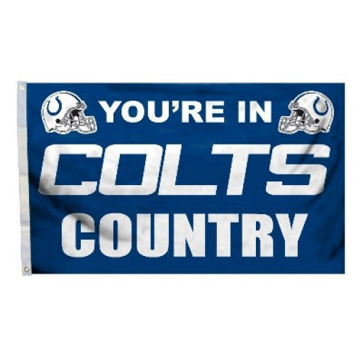 Indianapolis Colts Country 3 x 5 Flag