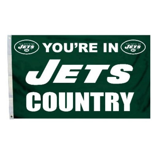 New York Jets Country 3 x 5 Flag