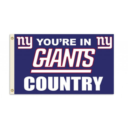 New York Giants Country 3 x 5 Flag