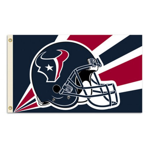 Houston Texans Helmet 3 x 5 Flag