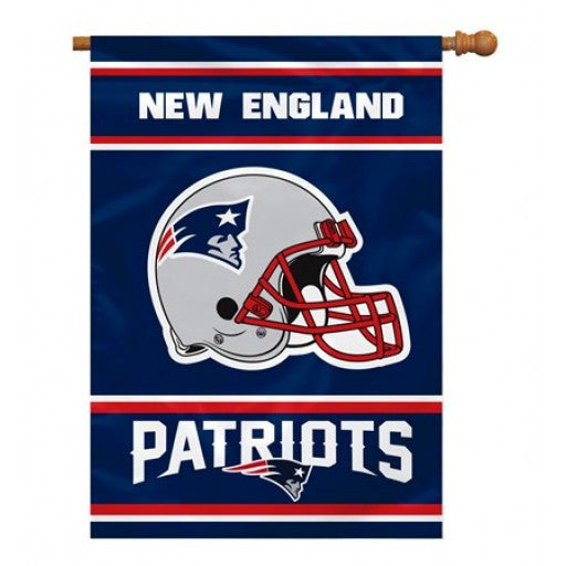New England Patriots 2-Sided House Banner