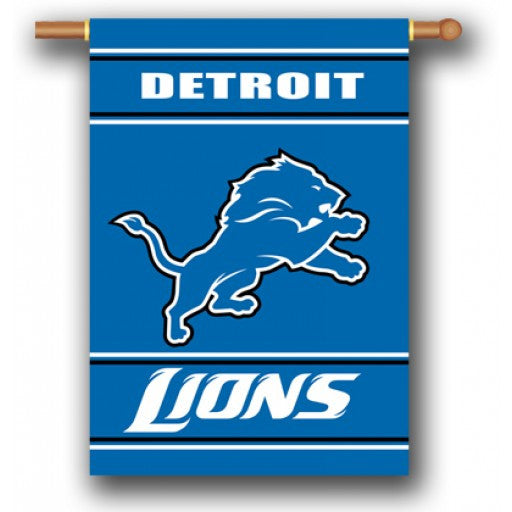 Detroit Lions 2-Sided House Banner