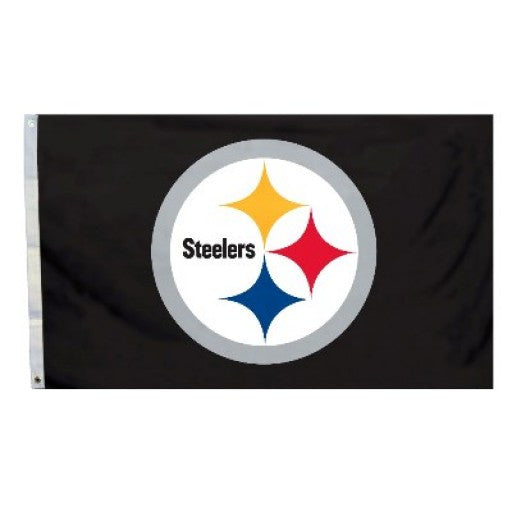 Pittsburgh Steelers 3' x 5' Logo Flag