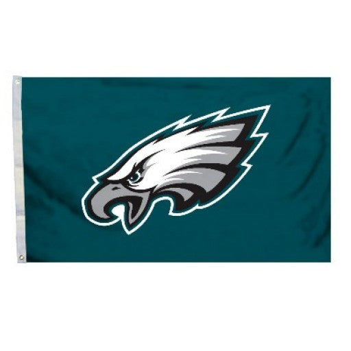 Philadelphia Eagles Logo 3 x 5 Flag