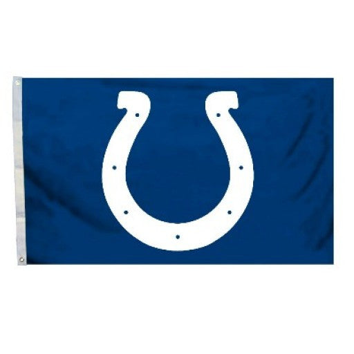Indianapolis Colts Logo 3 x 5 Flag