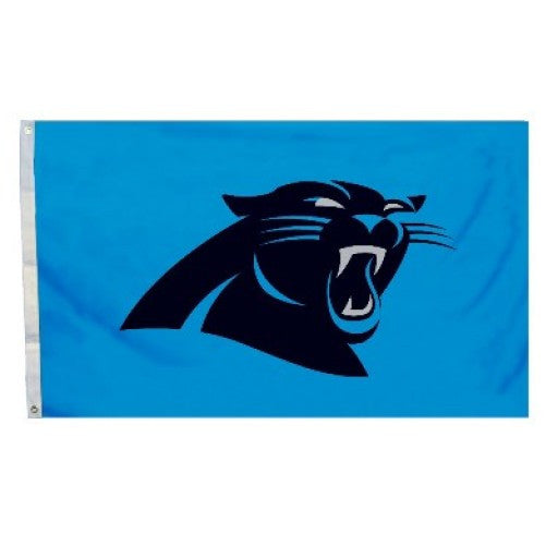 Carolina Panthers Logo 3 x 5 Flag