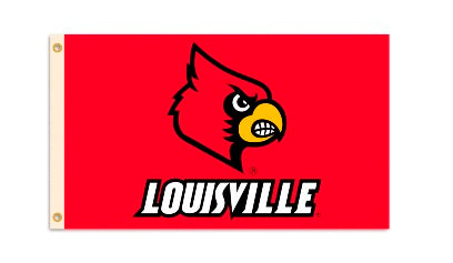 Louisville 3' x 5' Logo Flag