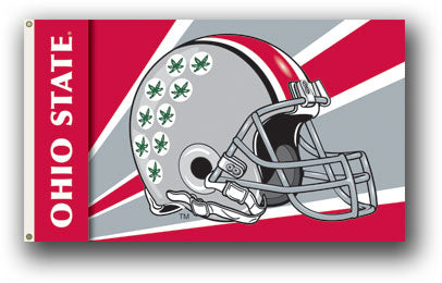 Ohio State Helmet Flag
