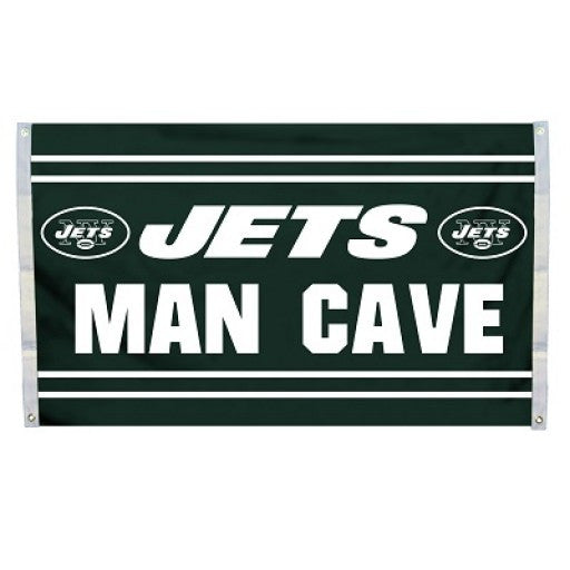 New York Jets Man Cave Flag