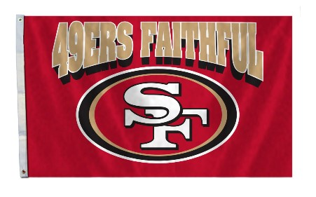 San Francisco 49ers Faithful 3' x 5' Flag