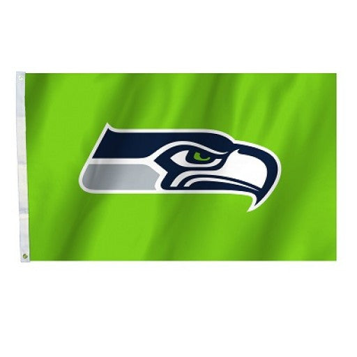 Seattle Seahawks Green 3 x 5 Flag