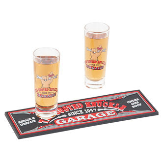 The Busted Knuckle Garage Shot Glass Gift Set